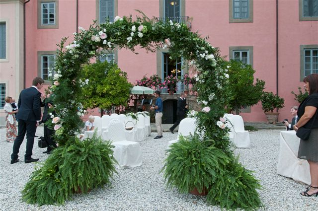 Outdoor Civil wedding venue Italy
