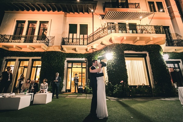 Private villa wedding in Italy
