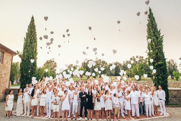 Wedding Reception in Italy - Get together