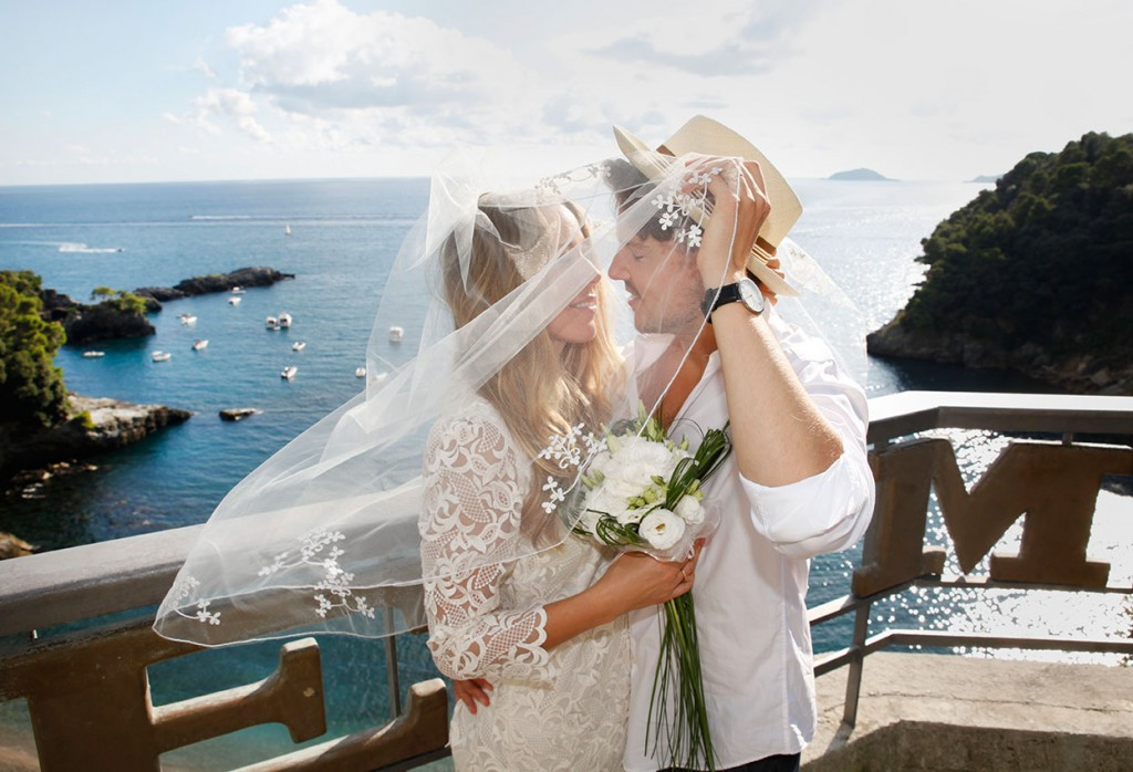Wedding Italian Coast, Gulf of Poets, La Spezia, Portovenere