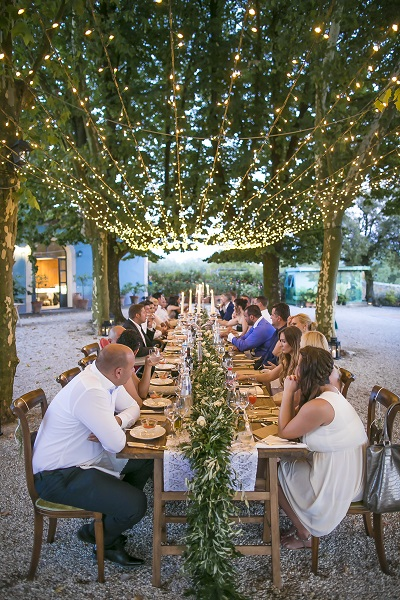 Perfect Rustic Setting for an Italian Outdoor Wedding