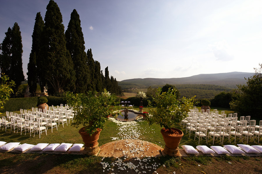 Romantic Wedding Venue in Tuscany