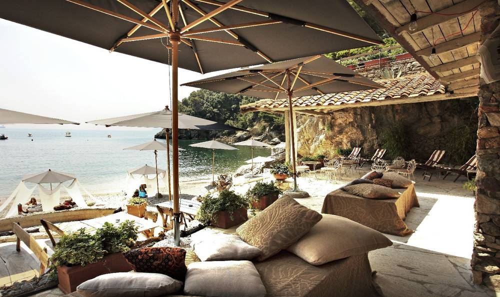 Beach Party Venue on the Italian Riviera