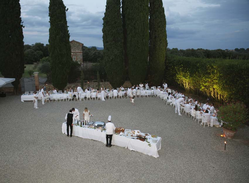 Wedding Rehearsal Dinner in Italy