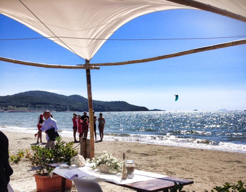 Beach Wedding in Tuscany