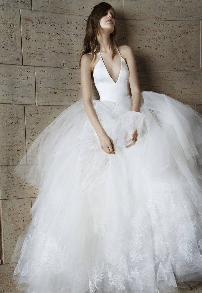 Wedding Dress by Vera Wang - Spring 2015