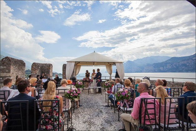 Wedding at Lake Garda