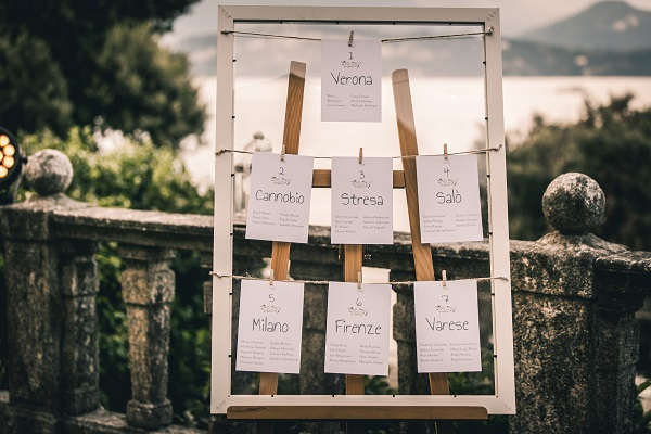 Italian Lake Wedding