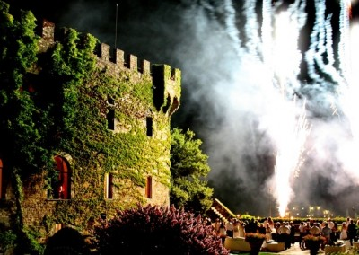 Beautiful castle: the perfect wedding venue