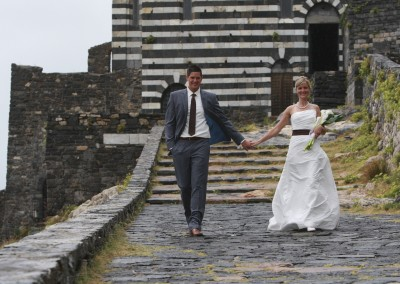 Autumn wedding in Portovenere