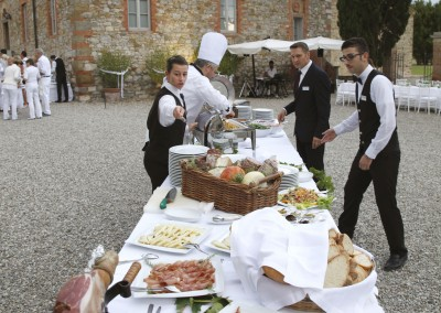 Excellent Italian catering with gourmand specialties
