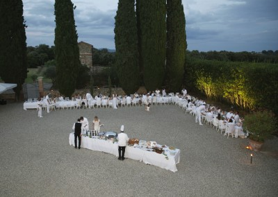 Wedding dinner with Italian specialties