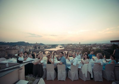 Wedding Reception Dinner in Florence