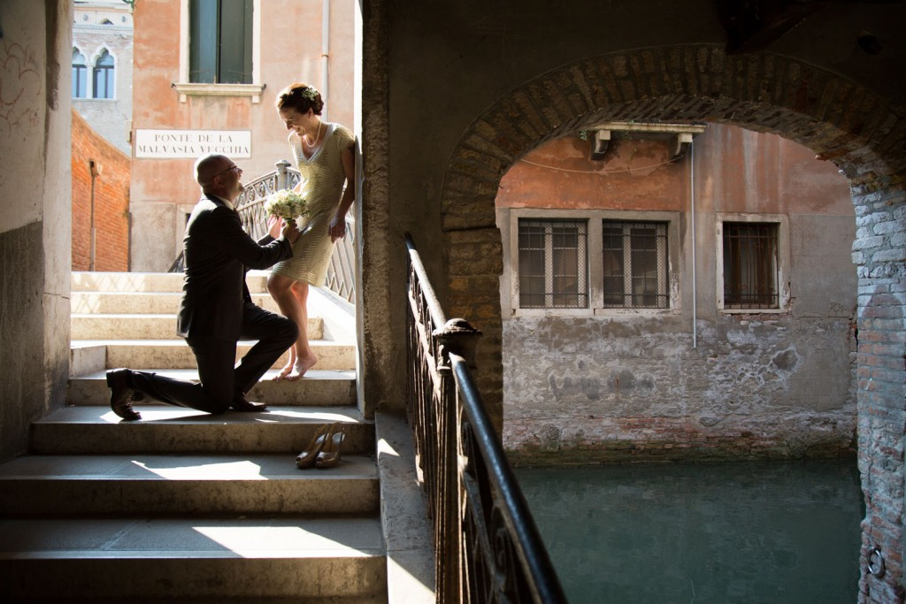 Civil Wedding Elopement in Venice
