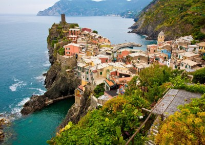 Cinque Terre - the perfect backdrop for rustic Italian-style weddings