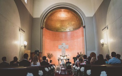 Florence Church Wedding with a Countryside Wedding Reception