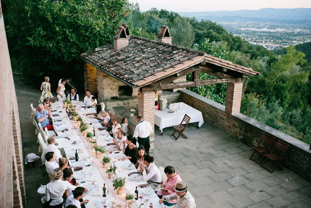 Country house wedding in Italy