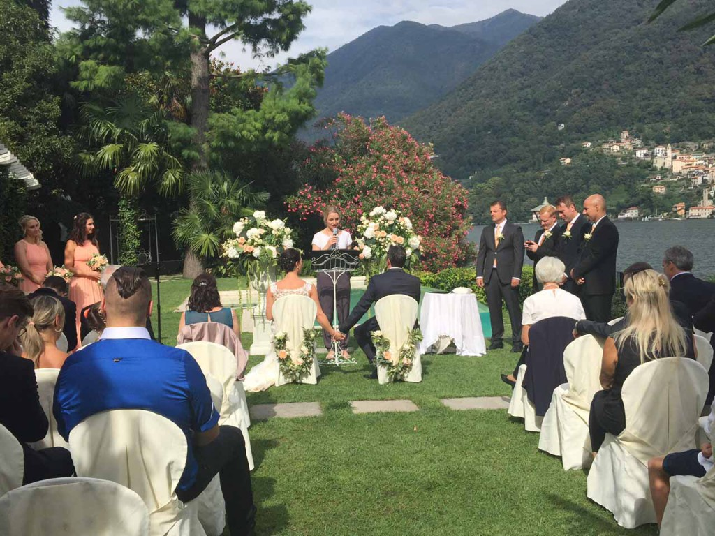 Villa Wedding on Lake Como