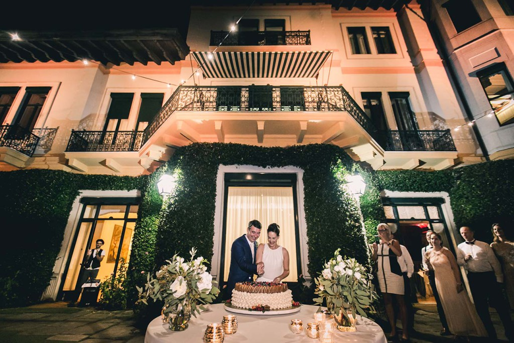 wedding in Villa on Lake Maggiore, Italy
