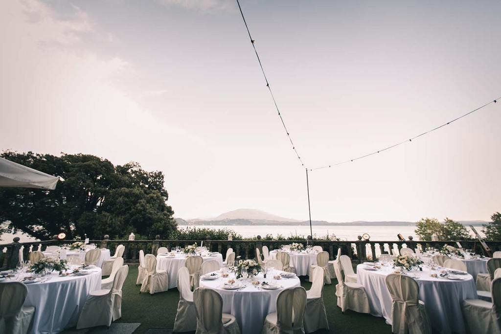Wedding Dinner Reception on Lake Maggiore