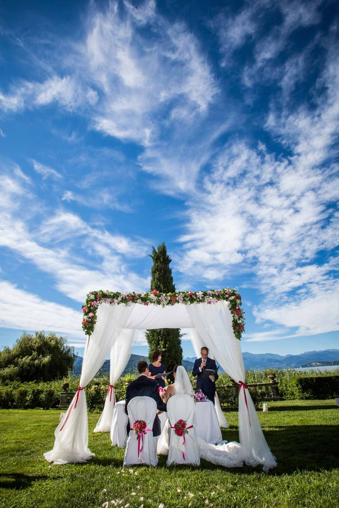 Wedding Ceremony on Lake Maggiore