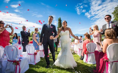 Wedding in Northern Italy with Lake View