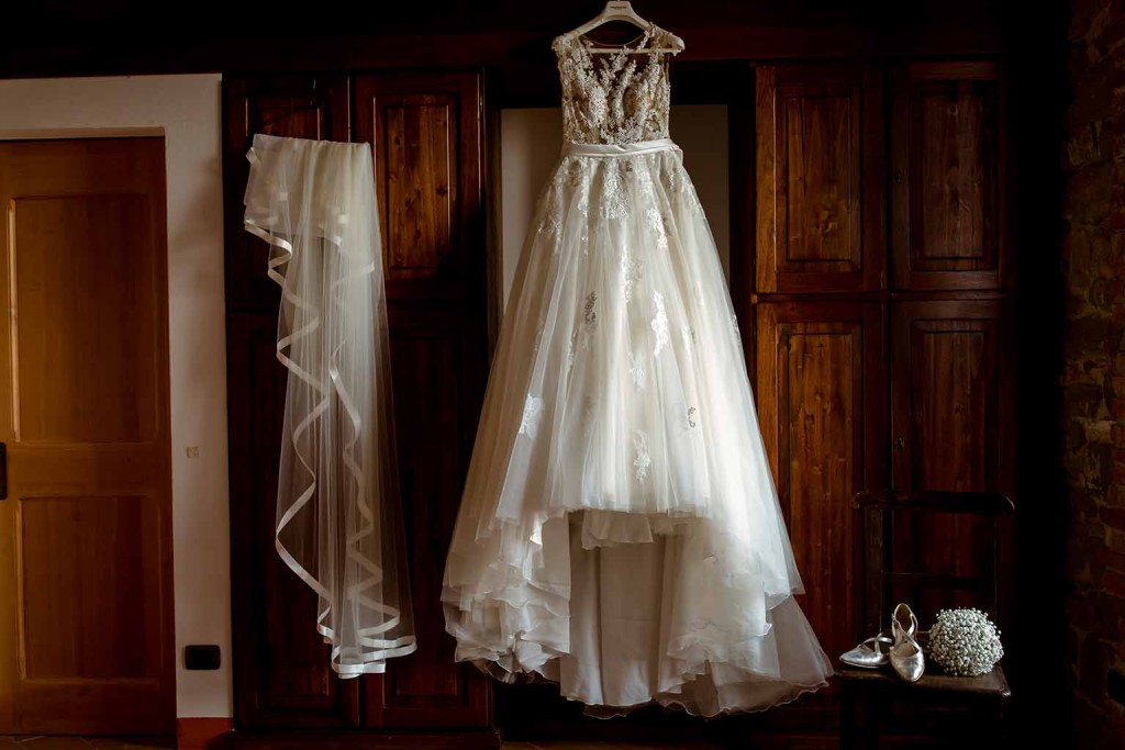 Wedding dress in Italy