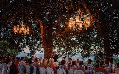 Country House Wedding in the Vineyards of Volterra
