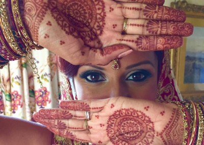 bride - Indian wedding in Tuscany