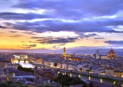 Amazing skyline of Florence