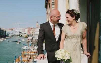 Civil Wedding Elopement in Venice