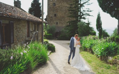 Rustic Country Chic Wedding in Tuscany