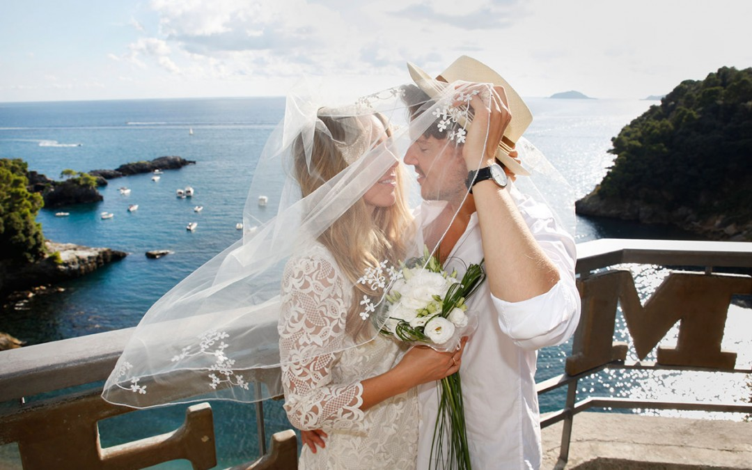 Bridal Couple in Tellaro