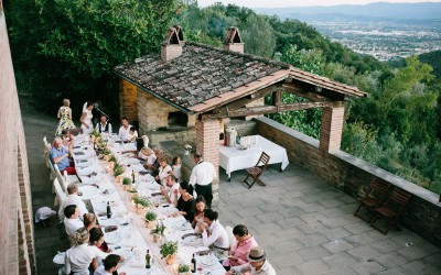 Lena and Francis Country House Wedding in Tuscany